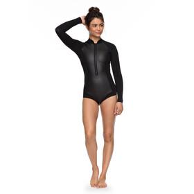 Roxy 1.0 Satin Cheeky Spring B-Lock Front Zip Langarm Wetsuit Damen black